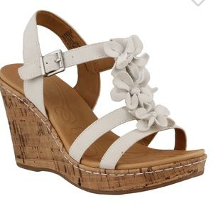 BOC Patsy Wedge florals wedge cork sandals shoes